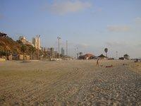 Израиль: пляж в Нетании