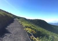 Туристическая тропа на гору Фудзи