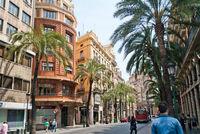 Валенсия: прогулка по центральной улице города