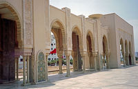 Марокко: мечеть Хасана в Касабланке