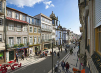Порту: пешеходная улица Санта-Катарина