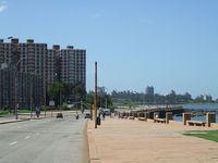 Набережная Монтевидео достаточно широка