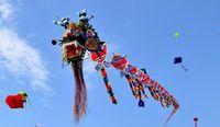 Фестиваль воздушных змеев в Китае (апрель)