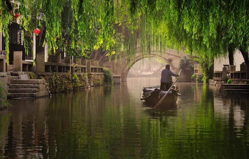 Великий канал Китая: самый длинный судоходный канал в мире, которому 1300 лет
