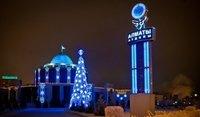 Алматинская Достик Плаза. Почти пуста на Новый Год.