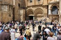 В апреле в Израиле очень много туристов