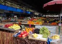 На рынках представлено огромное разнообразие вкусной продукции