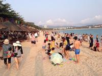 Любимый пляж местных жителей...