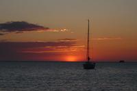 Июньский закат на Ибице