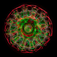 Биохимик показал, как фантастически выглядит вода, когда ее приводит в движение звук